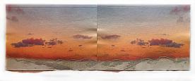 Landscape. Sataf at Sunset. 2014