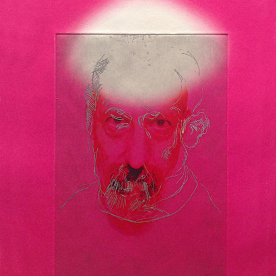 Self Portrait on Magenta. 2014